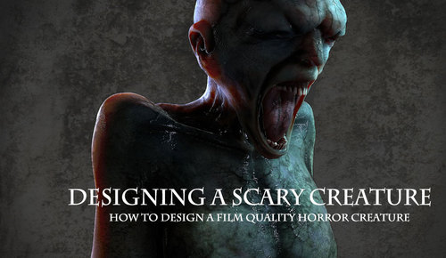 Designing A Scary Creature 1