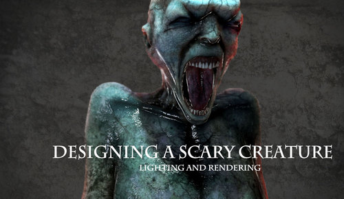 Designing A Scary Creature 3