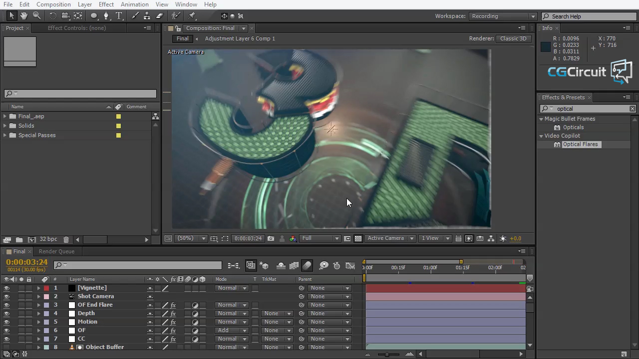 Creating a Broadcast Intro in C4D