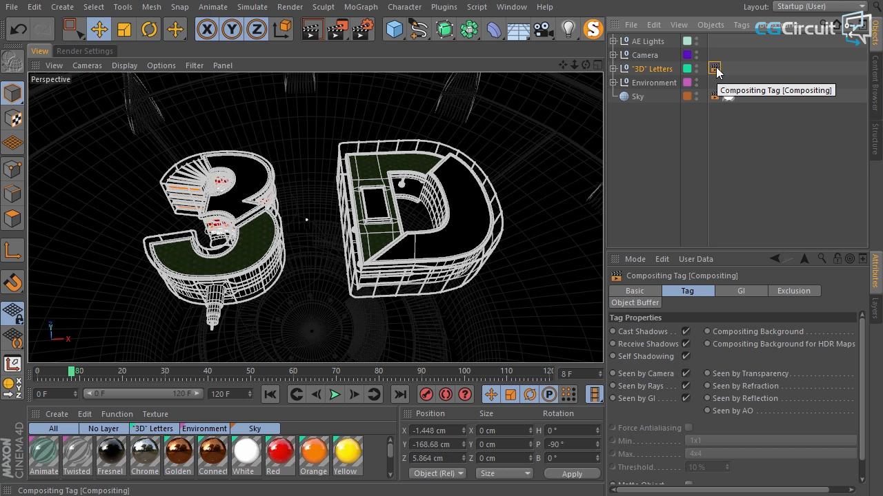 Cinema 4d Visualize Serial Port - xilusorange