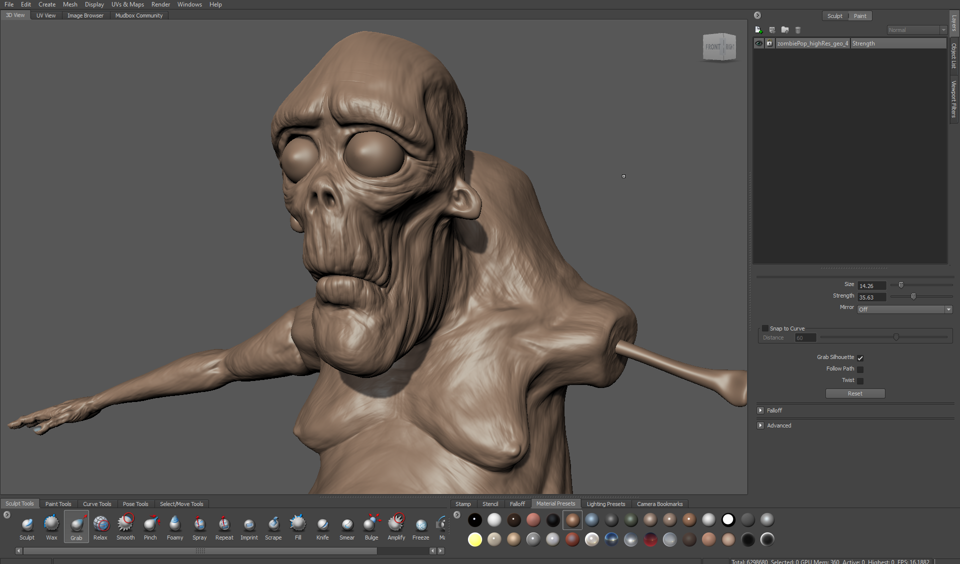 Zombie Crossing 1: Modelling & Sculpting