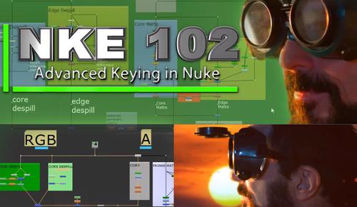 NKE 102- Advanced Keying in Nuke