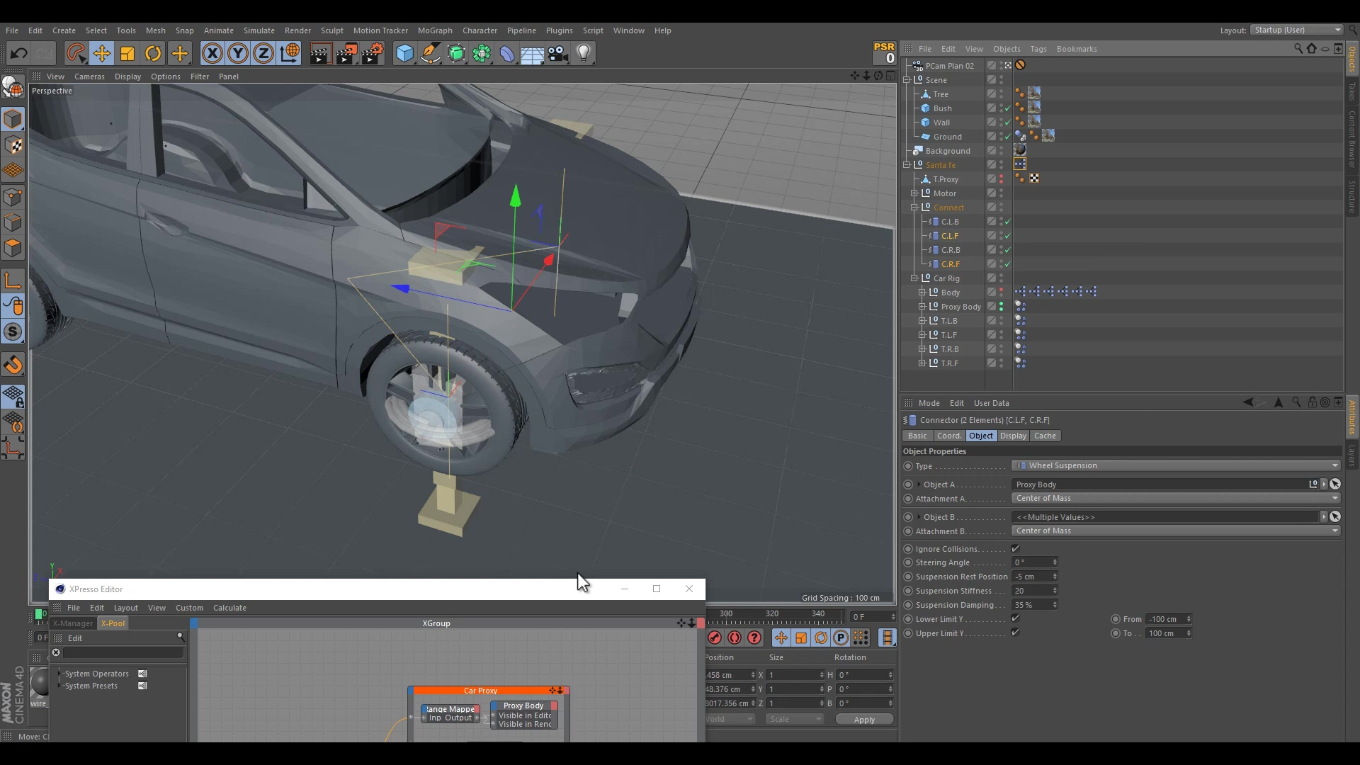 Cinema4D _ Car Destruction   Part 1