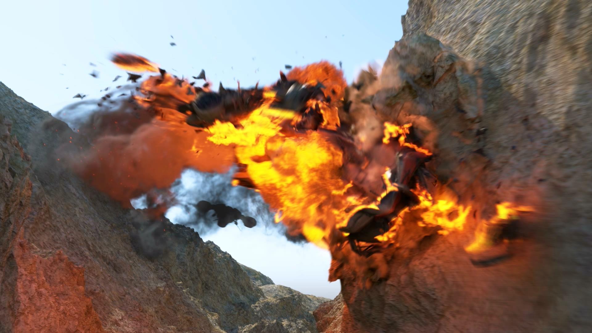 3ds Max vfx series Spacecraft Explosion