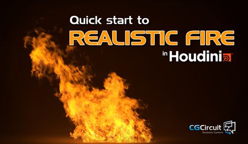 Has anyone tried this paid Houdini fire tutorial? - Real
