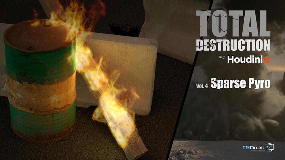 Total Destruction Volume 4: Sparse Pyro