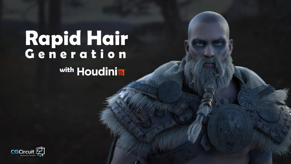 Rapid Hair Creation in Houdini