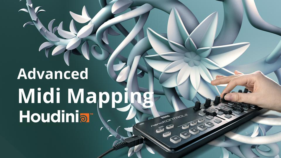 Rapid Asset Creation with Houdini and MIDI